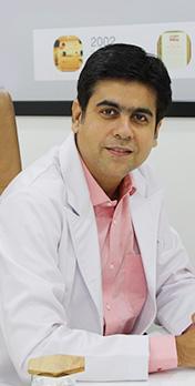 Dr Anuj Saigal, Kaya Hair Transplant Clinic, Green Park