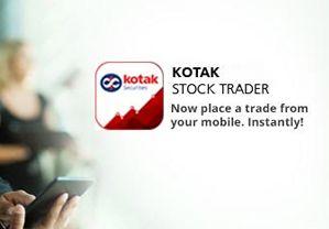 Kotak Stock Trading Mobile App
