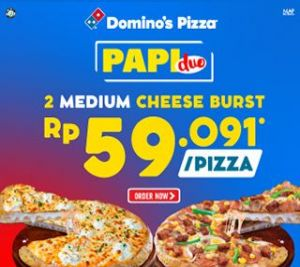 Paket Pizza Duo Cheeseburst