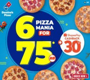6 Pizza Mania 75k