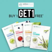 Mirabelle- Give Your Skin The Boost Of Freshness: Buy 1 Get 1 Free On Sheet Masks