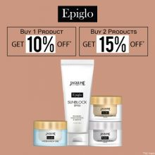 Jaqulineusa Epiglo- Discover The Epic Glow With 'upto 15% Off' On Jaqulineusa Skincare Range: Epiglo