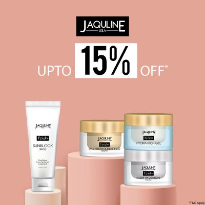 Jaqulineusa- Avail Knockout Deal Of The Month: Upto 50% Off On Jaqulineusa Bestsellers
