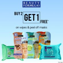 Beauty Formulas Wipes And Peel Off Masks