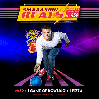 Bowling And Pizza Offer