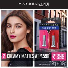 Maybelline Lipstick Combo