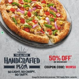 The All New Handcrafted Pizza
