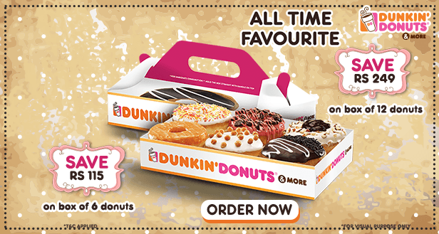 Visit our website: Dunkin' Donuts - Connaught Place, New Delhi