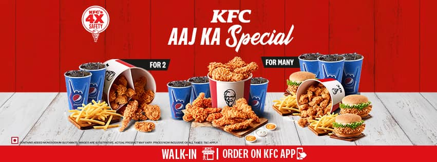 Visit our website: KFC - Race Course Road, Gwalior