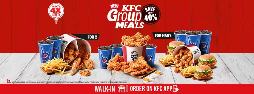 Visit our website: KFC - new-bel-road, bangalore