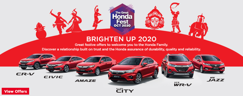 Visit our website: Honda Cars India Ltd. - Indra Nagar, Bengaluru