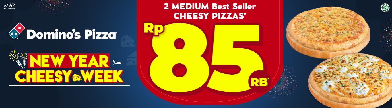 Visit our website: Domino's Pizza - Pondok Cina Beji, Depok