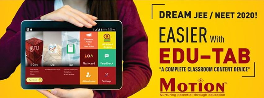 Visit our website: Motion Education Pvt. Ltd. - Industrial Area, Kota