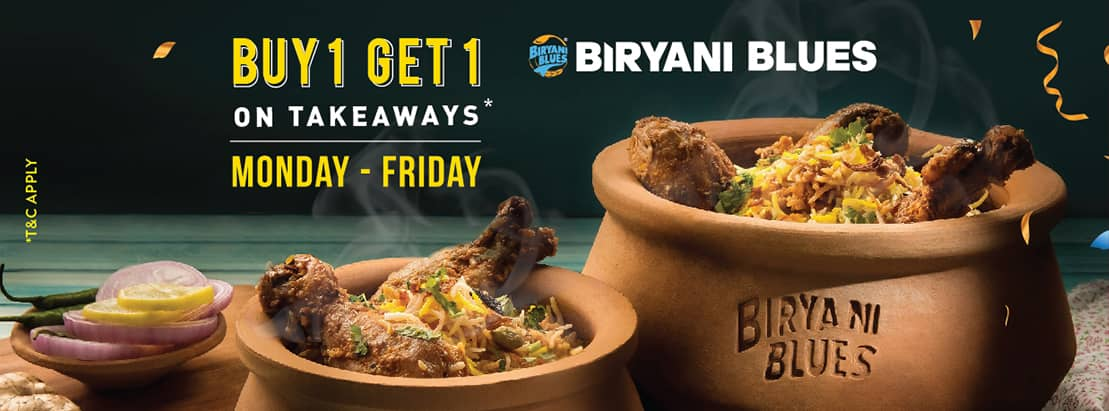 Visit our website: Biryani Blues - T3, New Delhi