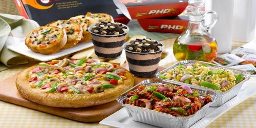 Pizza hut Pizzas